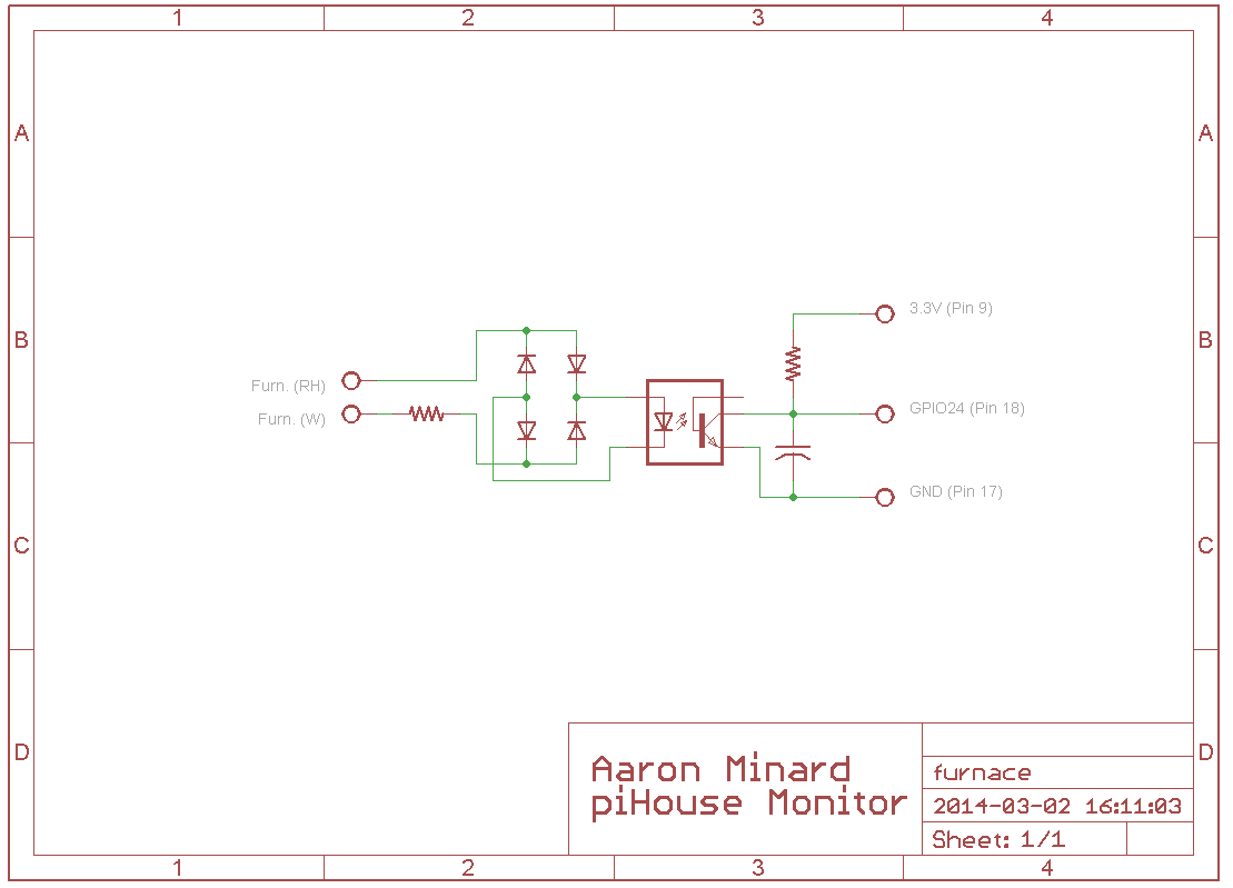 Hackerspaces Soup Arduino Beer Thermostat Schematics In This Circuit When The Is Open 10k Resistor Attached To Terminals Limits Current Feeding 4 Diodes Which Function As A